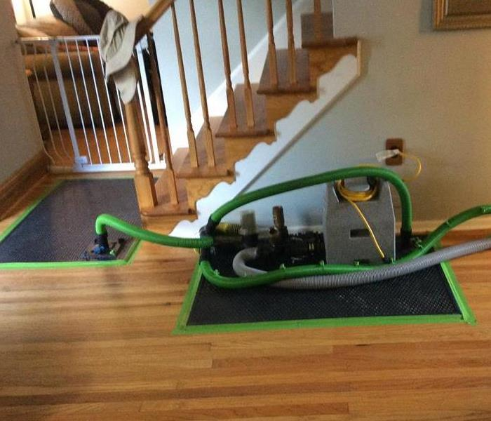 Hardwood Floor Drying May System