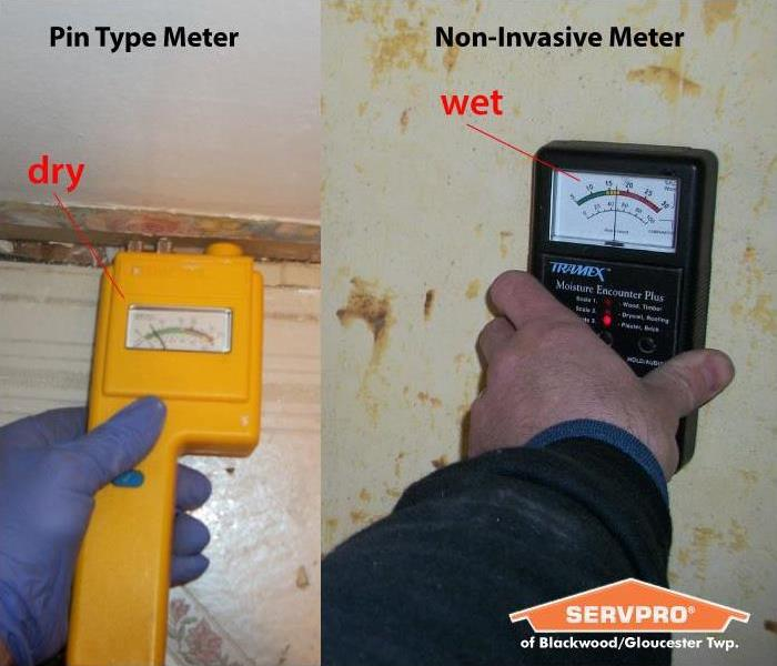Water Damage Meter Use in Water Mitigation